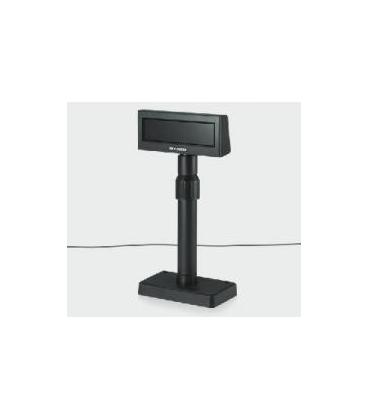 Display visor bixolon bcd-2000dg serie negro + fuente de alimentacion