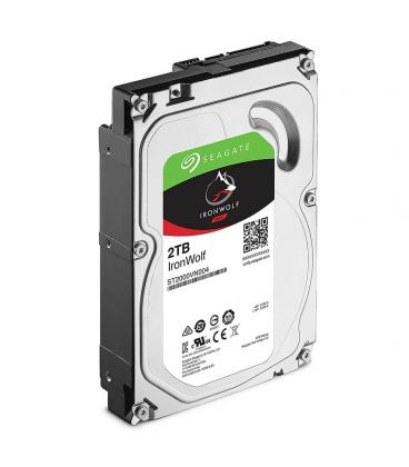 """HDD SEAGATE NAS IRONWOLF 3.5"""" 2TB 5900RPM 64MB - Imagen 1"""