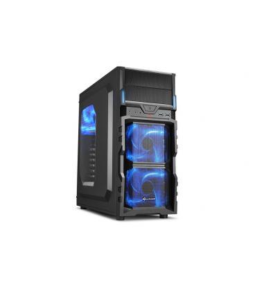 Sharkoon VG5-W Escritorio Negro carcasa de ordenador - Imagen 1