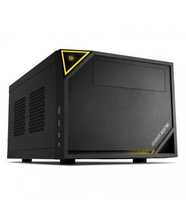 Sharkoon SHARK ZONE C10 Negro, Amarillo carcasa de ordenador - Imagen 1