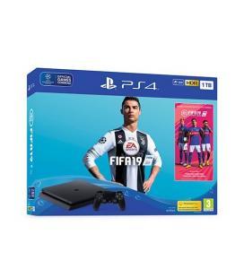 CONSOLA SONY PS4 1TB+FIFA 19 - Imagen 1