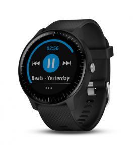 Reloj deportivo con gps garmin vivoactive 3 music negro y plata - bt - contactless garmin pay - almacenamiento hasta 500