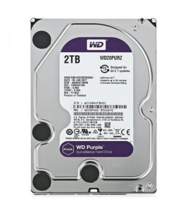 HDD WD 3.5'' 2TB 5400RPM 64MB SATA3 PURPLE