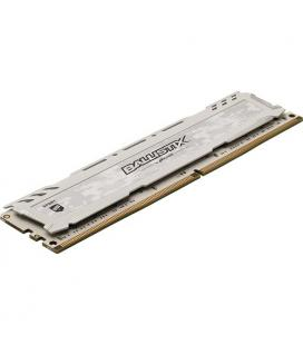 MEMORIA CRUCIAL DIMM DDR4 8GB 2666MHZ (PC4-21300) CL16 SR BALLISTIX SPORT LT WHITE
