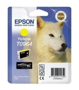 Cartucho de tinta amarillo epson r2880 t0964 aprox. 890 pag - Imagen 1