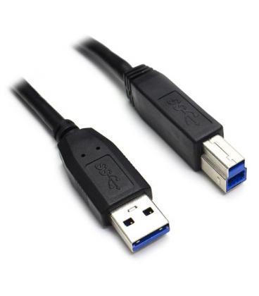 CABLE USB NANO CABLE USB3.0 A/M - USB3.0 B/M 2.0M NEGRO IMPRESORA
