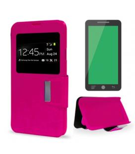 X-One Funda Libro IPhone 5/5S/SE Rosa