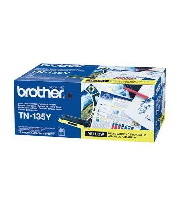 TONER BROTHER TN135Y AMARILLO 4.000PAG