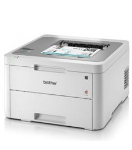 Impresora brother laser/led color hl-3210cw a4/ 18ppm/ 256mb/ usb 2.0/ wifi/ wifi-direct/ 250 hojas/ conectividad movil