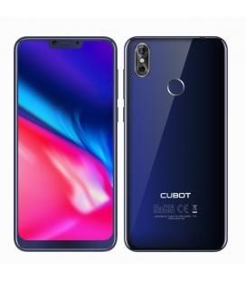 "Telefono movil smartphone cubot p20 azul/ 6.18""/ 64gb rom/ 4gb ram/ 20+2mpx-13mpx/ octa core/ dual sim/ 4g/ lector de huella"