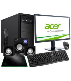 PACK ORD. HOME LINE I7-8700 8GB H1TB PB-ASUS H310M C.NOX KORE + MONITOR 24'' + TEC/RAT/ALF/ALT