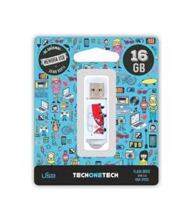 PENDRIVE 16GB TECH ONE TECH CAMPER VAN-VAN - Imagen 1