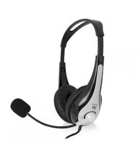 EWENT EW3562 Auriculares + Micrófono Stéreo negro