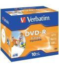 DVD-R VERBATIM IMPRIMIBLE PACK 10 - Imagen 2