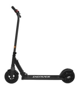"""Scooter patinete electrico denver sco-80110 negro / aluminio / ruedas 8"""" / neumatico inflable"""