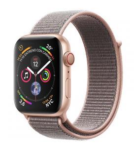 Applewatch series4 gpscellular 40mm caja aluminio oro con correa deportiva loop rosa arena - mtv