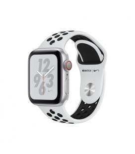 Applewatch nike series4 gpscellular 40mm caja aluminio plata con correa deportiva platino puro/n