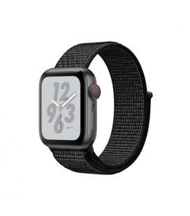 Applewatch nike series4 gpscellular 40mm caja aluminio gris espacial con correa negra nike loop