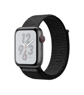 Applewatch nike series4 gpscellular 44mm caja aluminio gris espacial con correa deportiva negro