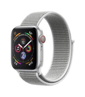 Applewatch series4 gpscellular 40mm caja aluminio plata con correa deportiva loop nacar - mtvc2t