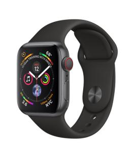 APPLE WATCH SERIES 4 GPS + CELLULAR, 40MM SPACE GREY ALUMINIUM