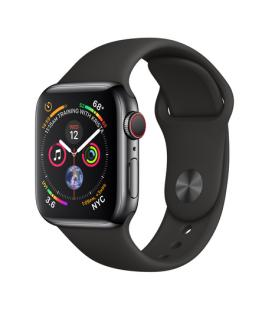 APPLEWATCH SERIES4 GPS+CELLULAR, 40MM SPACE BLACK STAINLESS STEEL