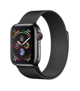 APPLE WATCH SERIES 4 GPS + CELLULAR, 40MM SPACE BLACK STAINLESS STEEL