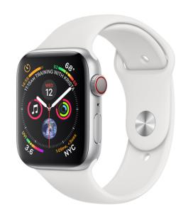 APPLE WATCH SERIES 4 GPS + CELLULAR, 44MM SILVER ALUMINIUM