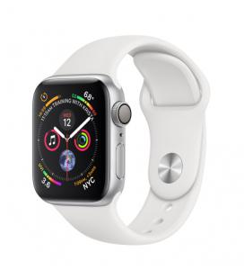APPLE WATCH SERIES 4 GPS, 40MM SILVER ALUMINIUM CASE