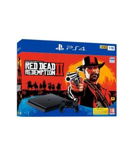 CONSOLA SONY PS4 1TB+RED DEAD REDEMPTION 2 - Imagen 1