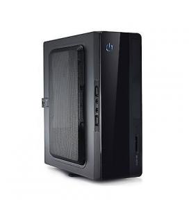 CAJA SOBREMESA/MINI-ITX UNYKA UK1007 150W USB2.0 C/LECTOR NEGRA VESA