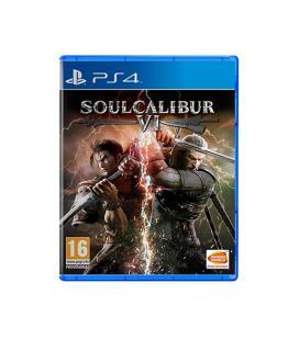 Juego para consola sony ps4 soulcalibur vi