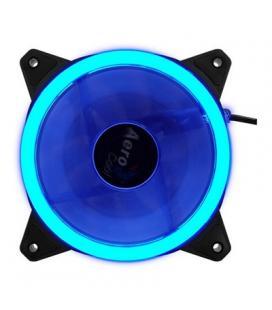 Aerocool Ventilador Iluminación D.Anillo 12cm Azul