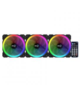 Aerocool Ventilador RGB 12CM D.Anillo 11 EFect+RC