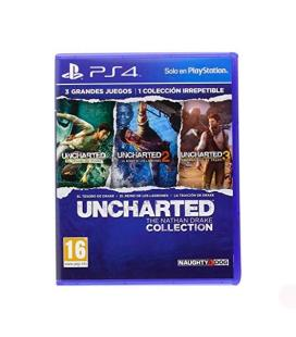 JUEGO SONY PS4 HITS UNCHARTED COLLECTION
