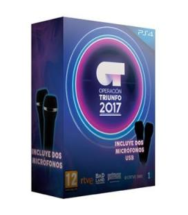 Juego ps4 - operacion triunfo 2017 + 2 microfonos - Imagen 1