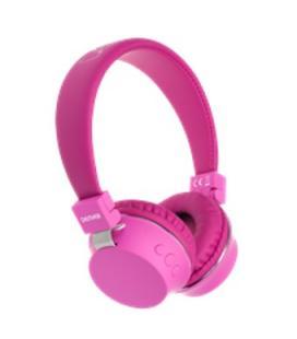 Auricular inalambrico denver bth-205 rosa / bluetooth