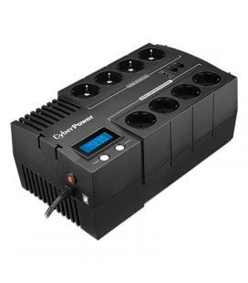 Sai línea interactiva cyberpower br1000elcd - 1000va/600w - salidas 8*schuko - usb - panel lcd - formato bloque - Imagen 1