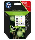 TINTA HP 950XL NEGRO Y 4 COLORES OFFICEJET PRO 8100/8600 PACK - Imagen 12