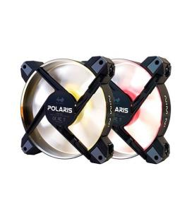 VENTILADOR 120X120 IN WIN POLARIS RGB ALUMINIUM PACK 2UD - Imagen 1