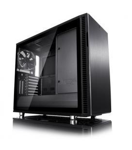 FRACTAL CAJA DEFINE R6 BLACKOUT VENTANA CRISTAL TEMPLADO USB-C ATX