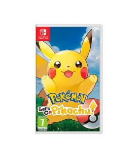 JUEGO NINTENDO SWITCH POKEMON LETS GO PIKACHU P/N: 2524881
