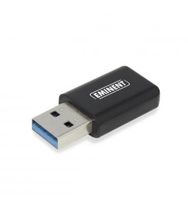 Mini adaptador de red usb 3.0 eminent ac1200 1200mbps - Imagen 1