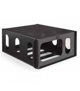 Caja antirrobo para proyectores fonestar sprbox-568n - metalica - color negro - peso max. soportado 20kg