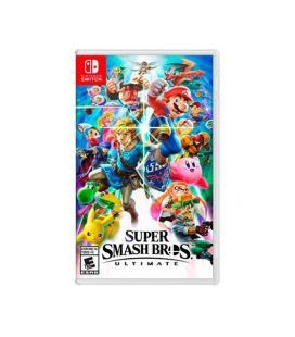 Juego para consola nintendo switch súper smash bros. ultimate