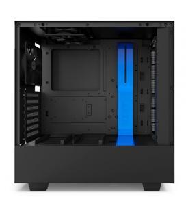 NZXT Caja SemiTorre H500 Matte Black/Blue