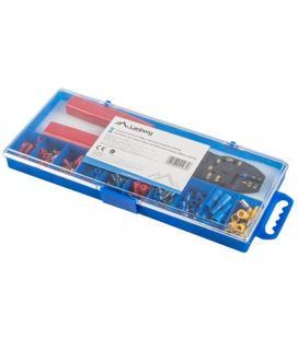 Crimpadora lanberg scc01-tcc-it101 - 100 conectores eléctricos variados para cables 1.25-4mm