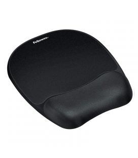 Alfombrilla reposamuñecas de espuma memory foam fellowes 9176501 - color negro - Imagen 1