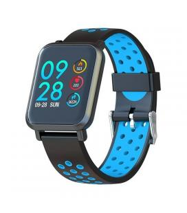 Reloj inteligente leotec multisport helse azul - pantalla táctil color 3cm - bt4.0 - tensiometro - pulsometro dinámico - bat