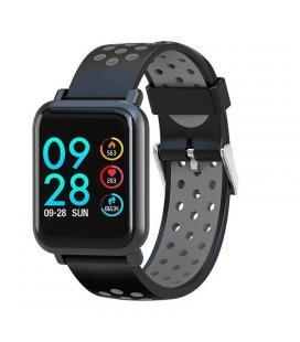 Reloj inteligente leotec multisport helse gris - pantalla táctil color 3cm - bt4.0 - tensiometro - pulsometro dinámico - bat